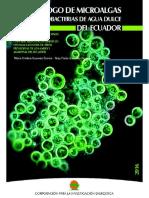 Catlogo de Microalgas y Cianobacterias Del Ecuador