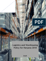 Draft Logistics and Warehousing Policy