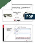 Megger - Respuesta Dieléctrica en El Dominio de Frecuencia