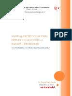 Manual Equidad de Genero Para Cooperativas y Redes Empresariales