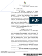 El juez Casanello procesó a Ricardo Echegaray