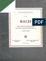 Caderno de Ana Madalena Bach