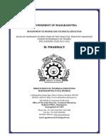 Admission Procedure of M. Pharm.