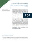 Conhecimento e ensino - Fundamentos para a nova reforma -  Shulman.pdf