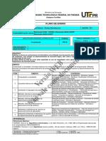 PLANO DE ENSINO COMPUTAÇÃO 1 UTFPR