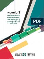 LecturaM3 Ampliacion del marco teorico, metodologia y cronograma de avance.pdf