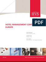 Hotel Management Contracts in Europe