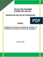 23607_2016_29058_Perfil Centro de Salud de Calobre