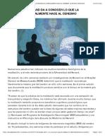 Estudio de Harvard Da a Conocer Lo Que La Meditación Literalmente Hace Al Cerebro Cristina Murciano