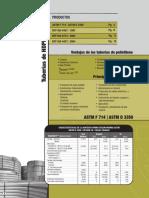 JORVEX Catalogo Tuberia HDPE
