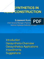 Geosynthetics in Road Construction