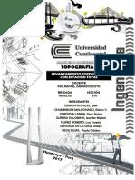 Informe Topografico n 4 Levantamiento Estacion Total