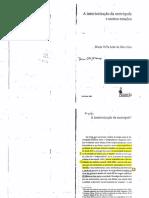 A Interiorização Da Metrópole (1808-1853) - DIAS, Maria Odila Leite Da Silva. in MOTA, Carlos Guilherme. 1822 Dimensões. São Paulo Perspectiva, 1986, p.160-184