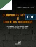 LIVRO-clausulas Petreas  E Direitos Humanos-LUIS RODOLFO DE SOUZA DANTAS