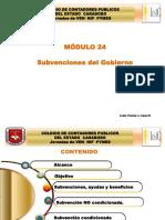 Seccion 24 Material Subvenciones Gobierno