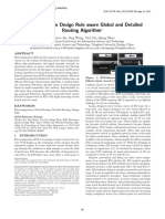 Electromigration Design Rule Aware Global and Detailed Routing Algorithm