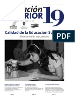 Calidad de La Educación Superior - El Camino a La Prosperidad