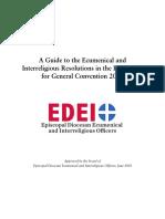 EDEIO General Convention Guide