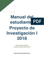 Manual Del Estudiante Proyecto de Investigación
