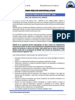 ORGANISMOS PUBLICOS DESCENTRALIZADOS DEL PERU