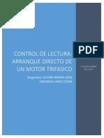 Arranque Directo de Un Motor Trifasico