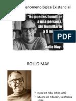 Psicoanálisis Fenomenológico Existencial ROLLO MAY