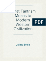 Julius Evola - What Tantrism Means to Modern Western Civilization