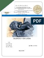 Trabajo Silencio y en Logia - Luis Clavijo