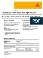PDS Sikacrete Self Consolidating Concrete