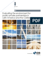 Evaluating the Environment for Public Private Partnerships in Latin America and the Caribbean the 2017 Infrascope