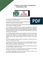 Las Principales Cafeterías Del Perú