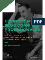 Escribe en Tu Blog Como Los Profesionales