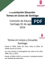 Presentación Comision de Educacion Tomas Desde 2006