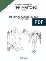 [José Mattoso] Identificação de Um País