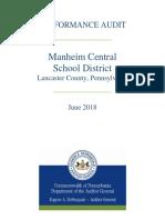 Manheim Central School District audit