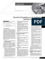 Revision Estrategica de La Auditoria de Gestion