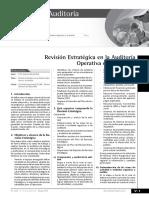 Revision Estrategica de La Auditoria de Gestion