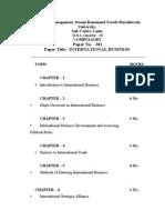 MBA III&  IV