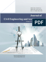 Issue 5%2c 2016%2c Journal of Civil Engineering and Architecture