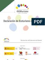 Declaracion Ecoturismo Daimiel Nov16