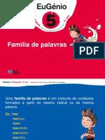 Eug5 Ppt Familia Palavras