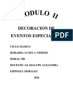 Modulo II Decoracion de Eventos Especiales i (1)