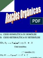 Reações Orgânicas v01 2018
