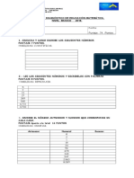 Diagnostico Matematica Básico 6-7 2014