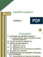 Clase Equilibrio Quimico Aspectos Cualitativos 2016