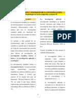 Guía 2- Clasificación y Enfoques de La Investigación