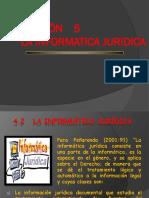 5. La Informatica Juridica