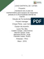Plan Proyectos