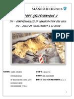 RAPPORT Geotechnique 2 Tp1 Odeometre (1)