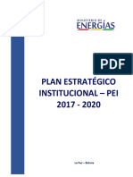 6. Plan Estrategico Institucional Men - Reformulado